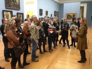 Musée des beaux arts de Lille avec le groupe NewLife lille