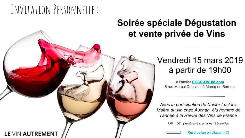 Soirée vins
